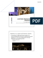 Lightning Protection Lecture Notes