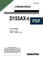 D155AX-6 Manual Operador (ESP)