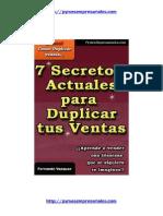 7 Secretos de Ventas