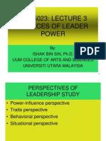 3 Gdu5023 Sources of Leader Power