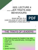 4 Gdu5023 Leader Traits and Behaviors