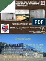 Sem 12 -Refrigeracion y Congelacion