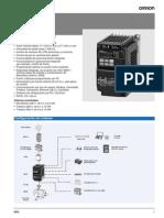 Datasheet 3G3MX2-A2007