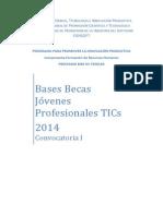 Bases Becas Jovenes Profesionales Tics 2014 (1)