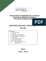 Silabo Biología Celular y Molecular 2014 - 1