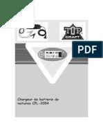 Notice Utilisation Chargeur Batterie Cpl 2054