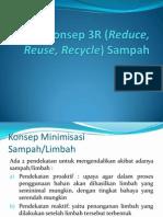 Konsep 3R (Reduce, Reuse, Recycle)