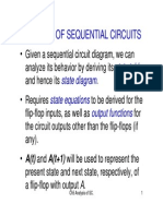 Good on Analysis of Sequential Logic Circut
