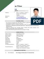 Masud Manik CV
