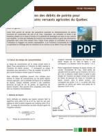 Evaluation Des Debits de Pointe_AAC2007