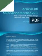 Aerosol Manufacturing Basics