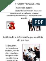 Analisis de Puestos y Entorno Legal