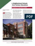 Historic Neighborhood Schools Deliver 21st Century Educations