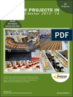 New Projects in Food Sector 2013-14