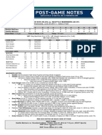 06.25.14 Post-Game Notes
