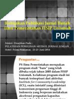 Kebijakan Publikasi Jurnal_ PS Ilmu Pemerintahan_2013