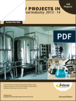 New Projects in Chemical Industry 2013-14