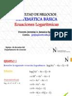 Ecuaciones Logarítmicas(RESUELTAS)