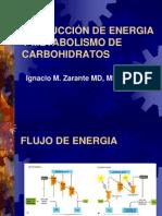 Energia y Carbohidratos