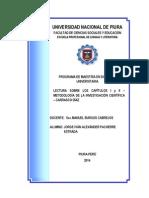 Ideas Principales Del I y II Capítulo de Carrasco Díaz