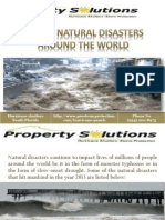 Top Worst Natural Disasters