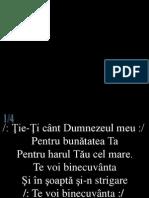 054 Tie-Ti Cant Dumnezeul Meu
