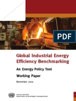 Benchmarking Energy Policy Tool