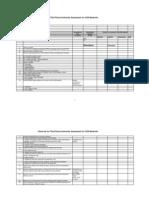 Checklist GSR612(E)