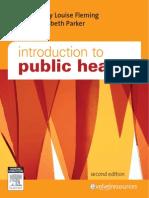 Introduction to Public Health - M. Fleming y E. Parker