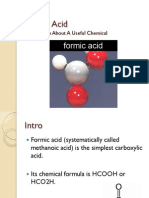 Introduction of Formic Acid