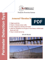 SP1400 perimeter intrusion detection technology