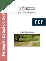 SP4400 perimeter intrusion detection system