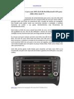 Comprar Um DVD Carro Com MP5 AUX in iPod Bluetooth GPS Para 2006-2011 Audi TT