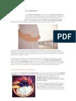 Dieta y Nutricion Embarazo
