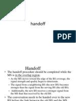 Handoff