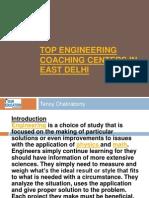 Top Engineering Coaching Centers in East Delhi