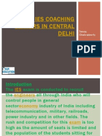 Top IES Coaching Centers in Central Delhi