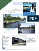 Precast Concrete Waterways