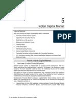 Indian Capital Market Icai Study Material