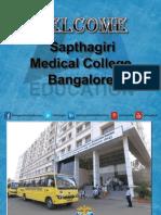 Sapthagiri Medical College Bangalore