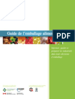 Guide Emballage Alimentaire