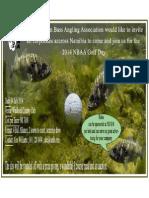 NBAA Golf Day Invite & Entry Form 2014