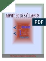 AIPMT Syllabus by Entranceindia