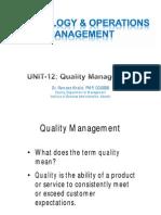 Unit12 - Quality_Management
