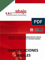 Gratificaciones Por El Ministerio de Trabajo