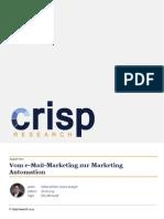 Vom e-Mail-Marketing zur Marketing Automation