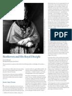 Beethoven and his Royal Discipline