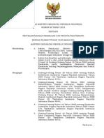PMK 80-2013 UU Praktik Fisioterapis
