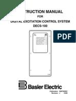 Basler Decs-100 AVR Manual