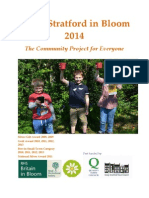Stony Stratford in Bloom Portfolio 2014